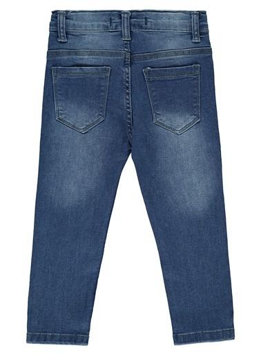 Civil Girls Kız Çocuk Kot Pantolon Mavi
